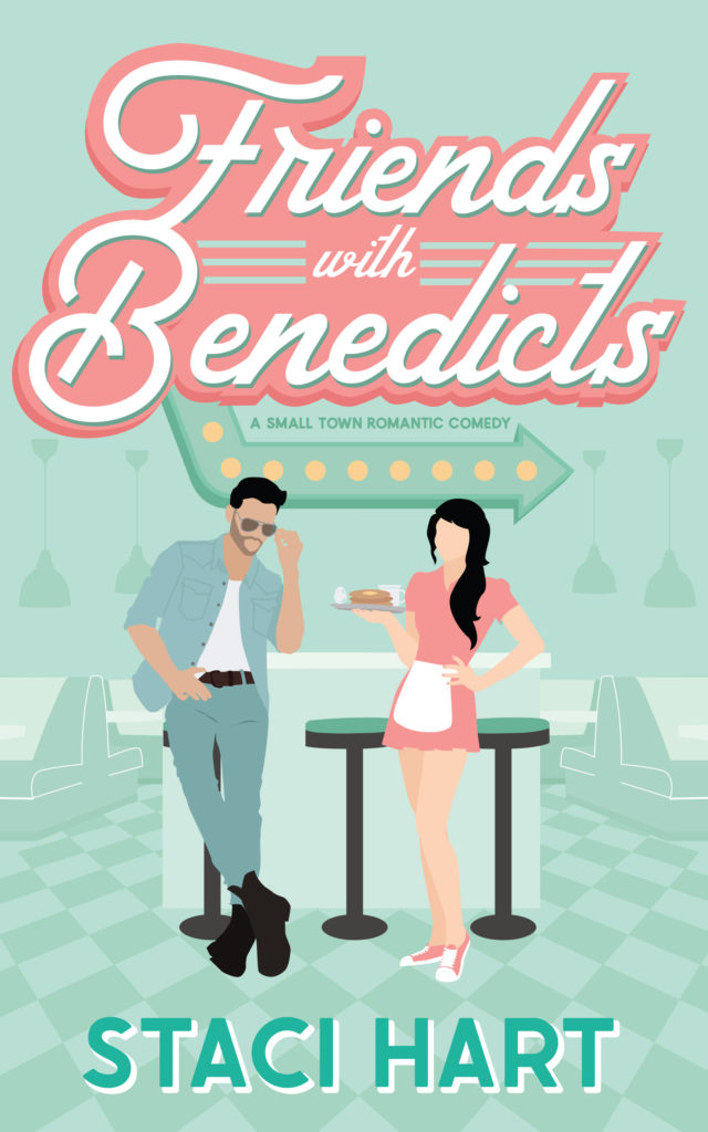 Cover Reveal:  Friends With Benedicts by Staci Hart